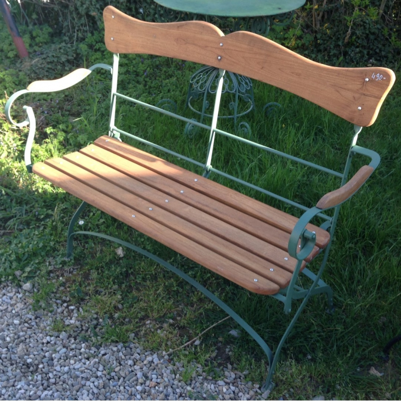 Moinat sa antiques and decoration in rolle and geneva - Banc de jardin pliable ...