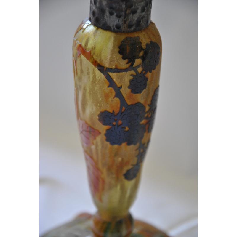 Moinat sa antiquit s et d coration rolle et gen ve for Lampe pied en verre