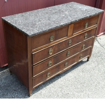 Commode Directoire italienne à 5 tiroirs