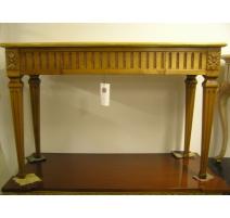 Console style Louis XVI, décor en