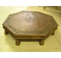 Table basse octogonale orientale