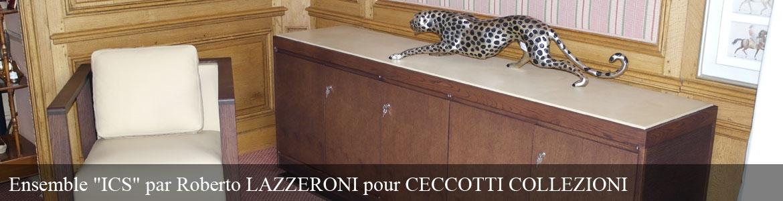 """""""ICS"""" par Roberto LAZZERONI pour CECCOTTI COLLEZIONI"""