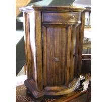 Meuble rustique à 2 portes et 1 tiroir