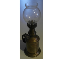 Oil lamp, signed CHUIT. Lyon.