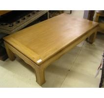 Table basse chinoise en teck