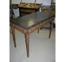 Console, style Louis XVI, avec 4 pieds