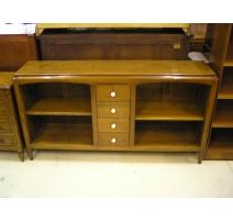 Bookshelves, model Eglantine, 2 niches, and 4