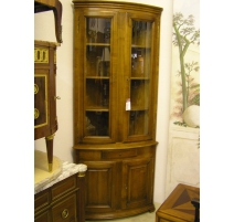 Corner cupboard, curved, Directoire style, in