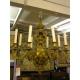 Lustre style Louis XIV à 8 lumières