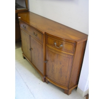 Buffet with 4 doors, Regency style in yew