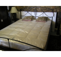 Wrought iron bed 160 x 200 cm