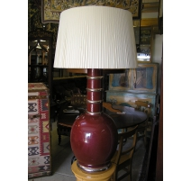 Lamp porcelain colour blood