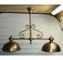 Lamp of billiard with 2 lights