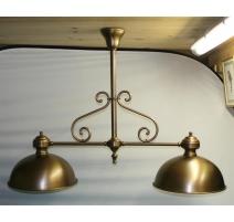 Lampe de billard à 2 lumières