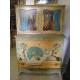 Commode-buffet peint de la maison