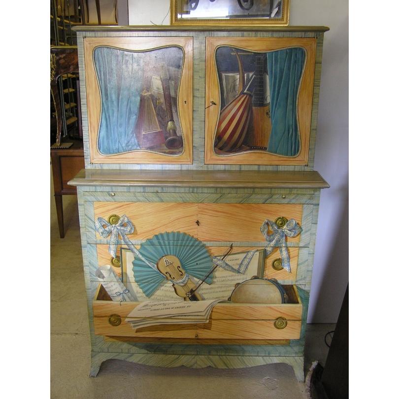 Dresser buffet painted home