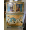 Dresser buffet painted home