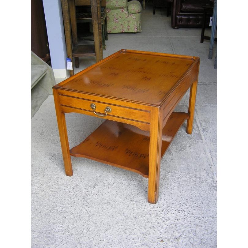 table bout de canap en bois d 39 if sur moinat sa antiquit s d coration. Black Bedroom Furniture Sets. Home Design Ideas