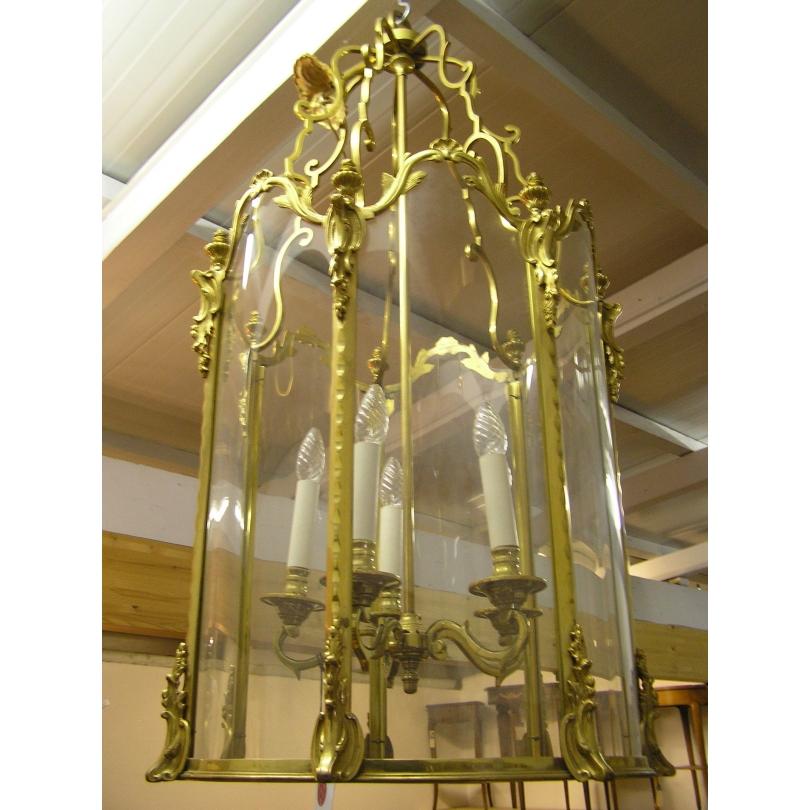 Lanterne a suspendre style Louis XV en