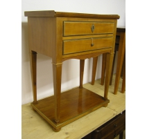 Bedside Directoire cherry, top