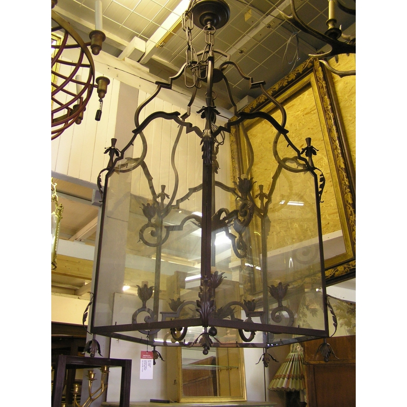Lanterne a suspendre style Louis XVI en