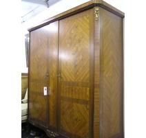Armoire en bois de rose à 2 portes
