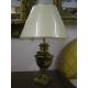 Lamp facets, patina antique