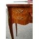 Poudreuse style Louis XV en bois de rose