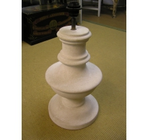 Pair of lamps in stone