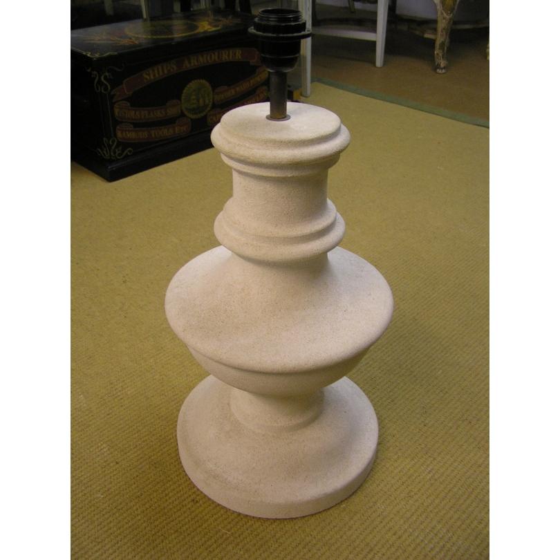 Paire de lampes en pierre