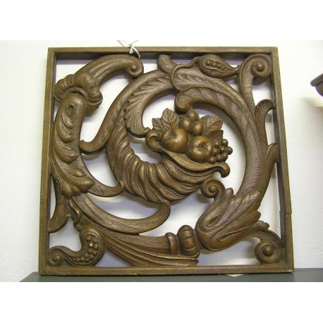 panneau art d co en bois sculpt sur moinat sa antiquit s d coration. Black Bedroom Furniture Sets. Home Design Ideas