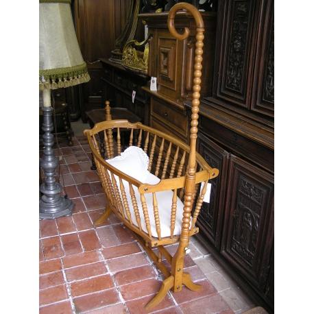 berceau louis philippe sur moinat sa antiquit s d coration. Black Bedroom Furniture Sets. Home Design Ideas