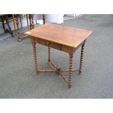 Petite Table D Enfant Louis Xiii En Sur Moinat Sa Antiquites