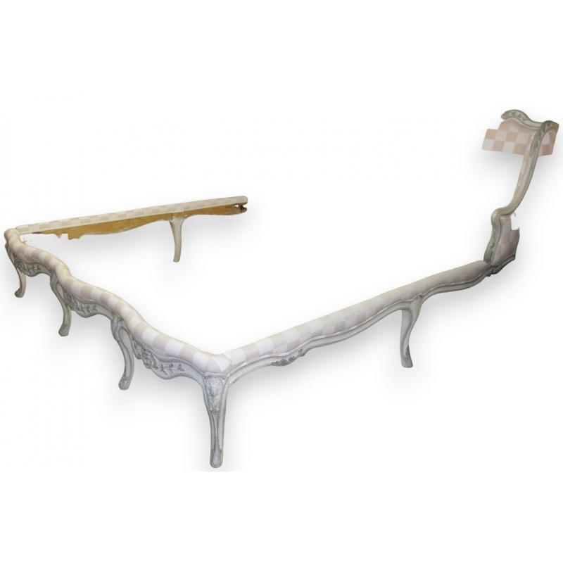 lit louis xv canap transform sur moinat sa antiquit s d coration. Black Bedroom Furniture Sets. Home Design Ideas