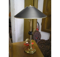 Lamp hot water bottle in gilded bronze