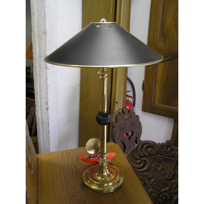 Lampe bouillotte en bronze doré