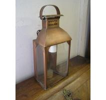 Applique en cuivre, travail artisanal