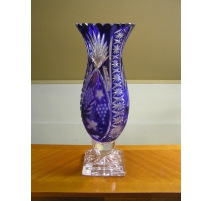 Crystal Vase color cobalt