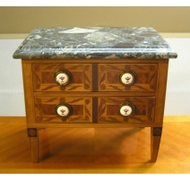 Commode miniature style Directoire