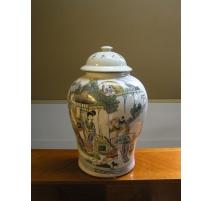 Vase à gingembre en porcelaine