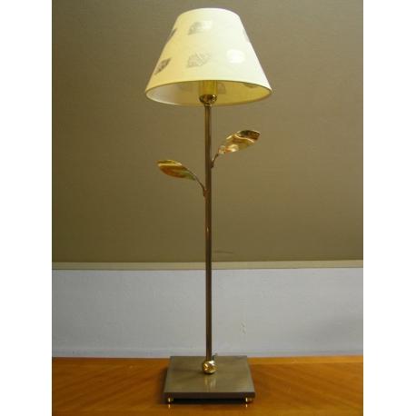 lampe de table en laiton patin dor sur moinat sa antiquit s d coration. Black Bedroom Furniture Sets. Home Design Ideas
