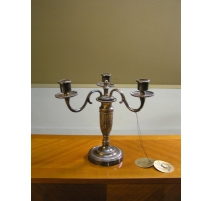 Pair of candlesticks Louis XVI style.