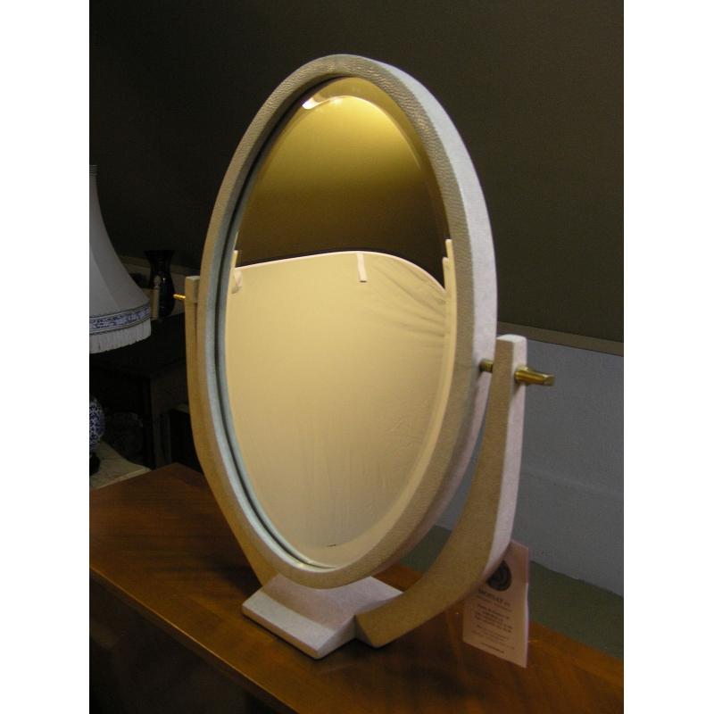miroir de coiffeuse art d co en sur moinat sa antiquit s d coration. Black Bedroom Furniture Sets. Home Design Ideas