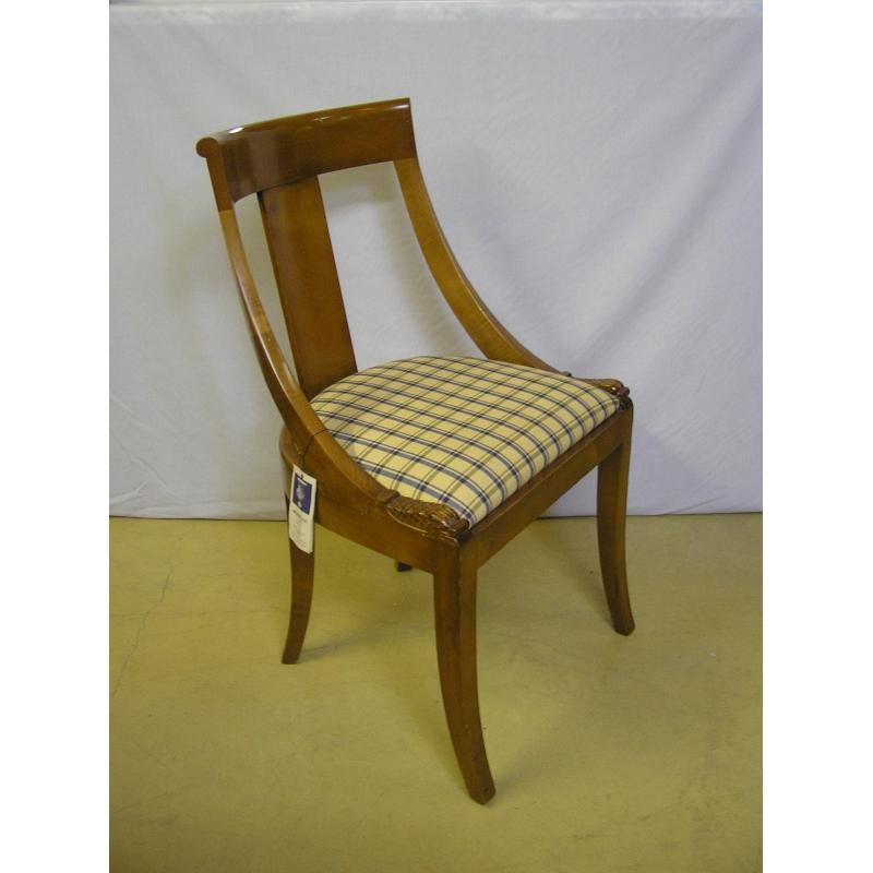 chaise empire gondole en h tre sur moinat sa antiquit s d coration. Black Bedroom Furniture Sets. Home Design Ideas
