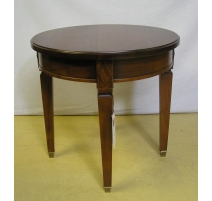 Pedestal table in the Directoire style cherrywood,