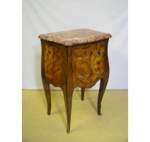 Bedside Louis XV style rosewood and