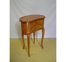 Bedside Louis XV-style kidney-wood