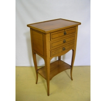 Bedside Table 3 drawers model