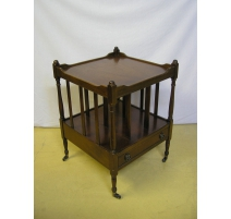 Table de chevet Canterbury en acajou