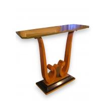 Console Art Déco en bois de poirier